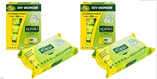 Komili Soft Wet Wipes, Pack of 10 - Fragrance Free, Sensitive - 60 Sheets x 10 Packs, Total 600 Sheets, Super Value Box