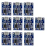 10pcs 1A 5V Micro USB Tp4056 Chargeur de Batterie au Lithium Power Charger Board Module