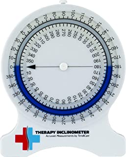 Tendicare Therapy Inclinometer | No-Leak Range of Motion Measuring Tool for Physiotherapy, Chiropractors, Physical & Occupational Therapy Professionals & Students … (1)