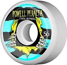 Powell-Peralta Park Ripper 2 56mm 104A White (4 pk)