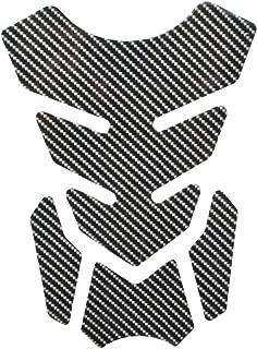 Tuneway Nuovo Cover Sticker Carbonio Tappo di Copertura Tappo Serbatoio Carburante//Gas per GSXR 600 750 1300 SV1000 GSF 1200 Bandit Black