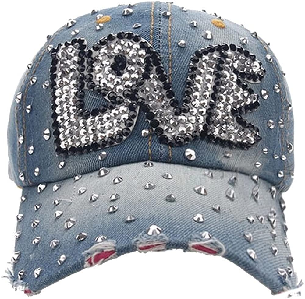 Deer Mum Lady Studded Direct store Rhinestone Limited time for free shipping Baseball Design Lip Adjustable