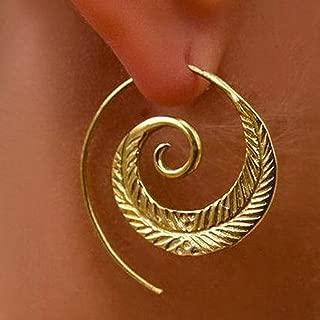 Lavany Vintage Alloy Earring Women Party Earrings Jewelry Accessories Gifts (C)