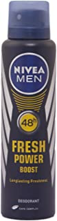 Nivea Fresh Power Boost Deodorant for Men, 150ml