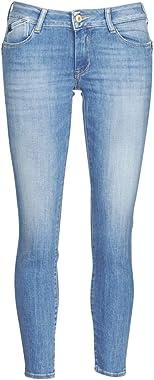 Le Temps des Cerises Pulp Slim 7/8ème Jeans Bleu N°4 Push up