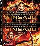 Pack Los Juegos Del Hambre Sinsajo 1 + 2 Blu-Ray [Blu-ray]