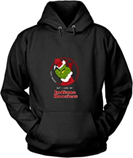I Love My Indiana Hoosiers T Shirt, The Grinch T Shirt - Hoodie