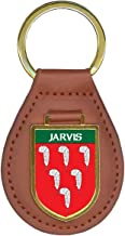 Jarvis Family Crest Coat of Arms Key Chains
