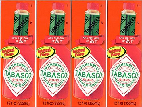 Tabasco タバスコ ペッパーソース 355ml×4本セット