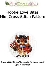 Hootie Love Bites Mini Cross Stitch Pattern