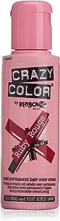 Crazy Color Ruby Rouge Nº 66 Crema Colorante del Cabello Semi-permanente