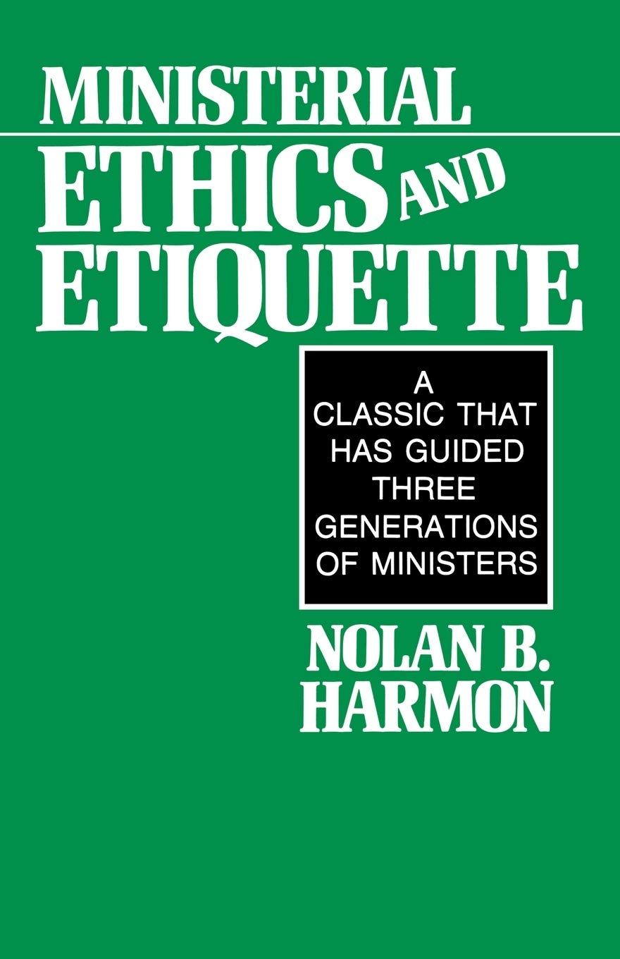 Image OfMinisterial Ethics And Etiquette