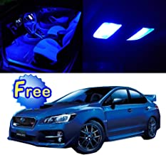 SCITOO LED Interior Lights 9pcs Blue Package Kit Accessories Replacement for 2010-2017 Subaru WRX