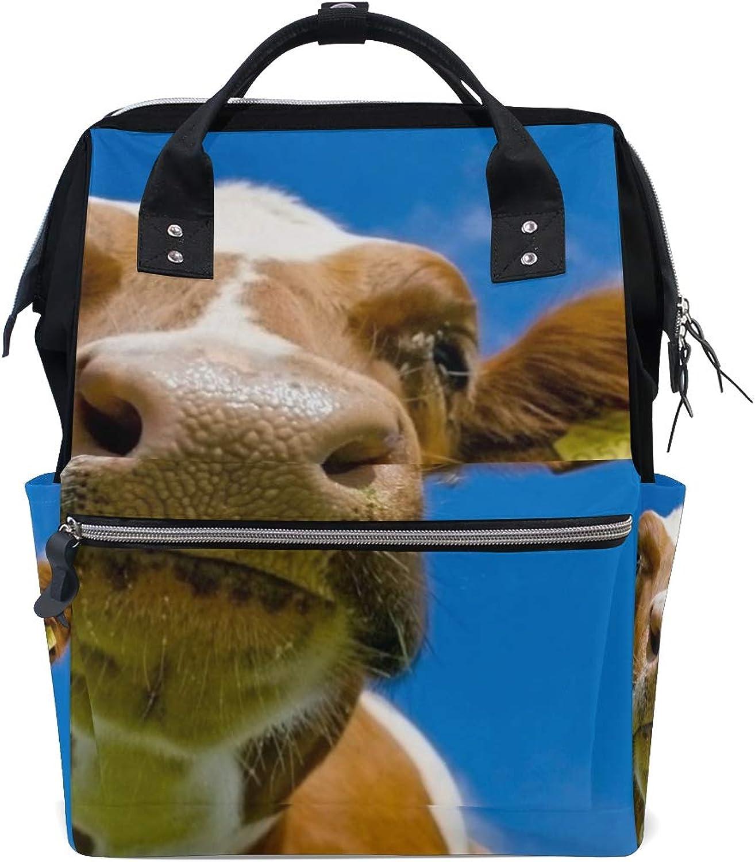 02cfde9f64b5 Backpack Yah Im Nose Real Sky Womens Laptop Backpacks Hiking Bag ...