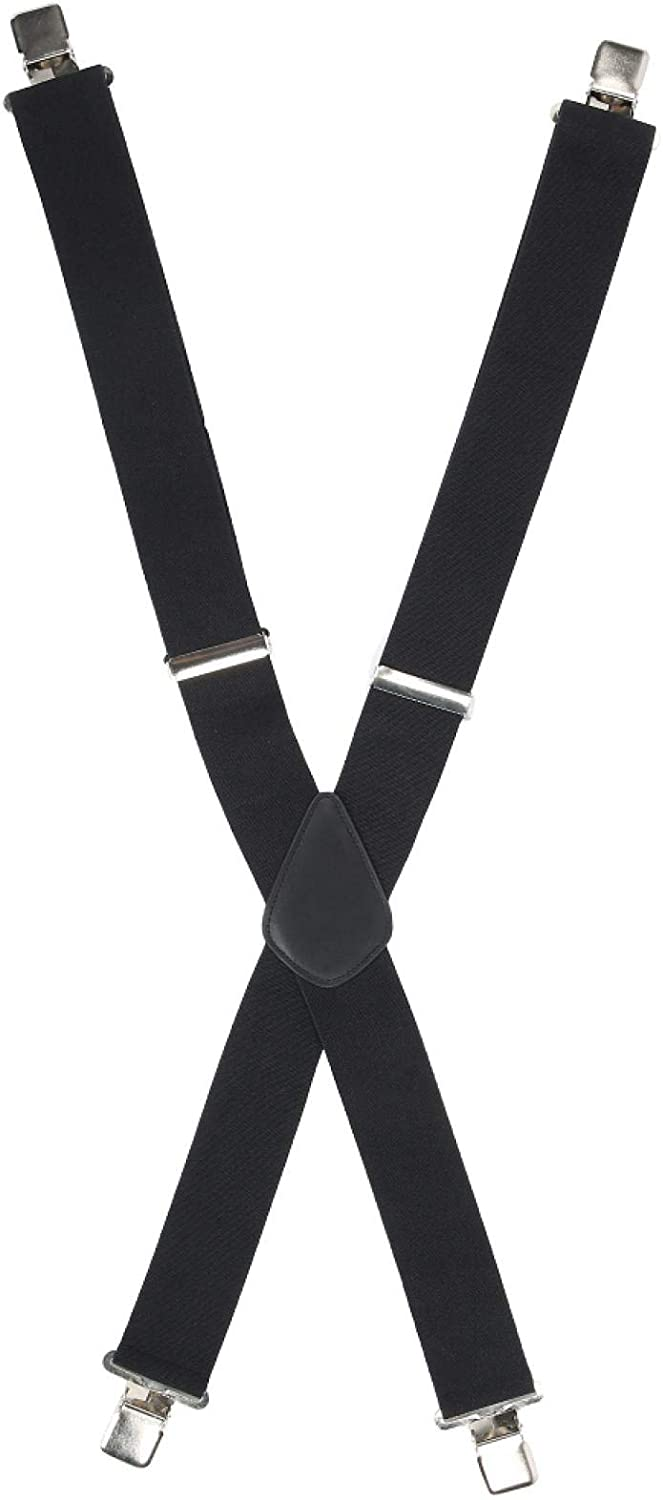 Taidda Thick And Soft X‑Back Suspenders, Light Weight 50Mm Men'S Wide Suspenders, Students Diy School Man Jeans Trousers For Home Dress Pants