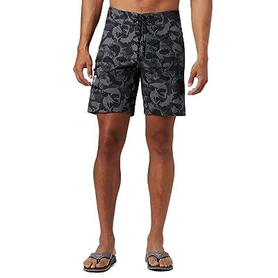 Columbia PFG Offshore II 9 inch Board Shorts (Black Inside Out Camo) Men