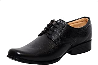 Zoom Shoes for Mens Leather Shoes and Formal Shoes D-61-Black Shoes