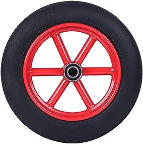 YJJT Industriële vervanging wiel, Heavy Duty Wielen, Dubbelzijdig lager, Hard, Slijtvast, Belasting 120kg Per wiel, Wieldi...
