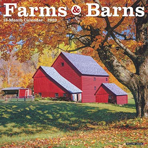 Farms & Barns 2020 Wall Calendar