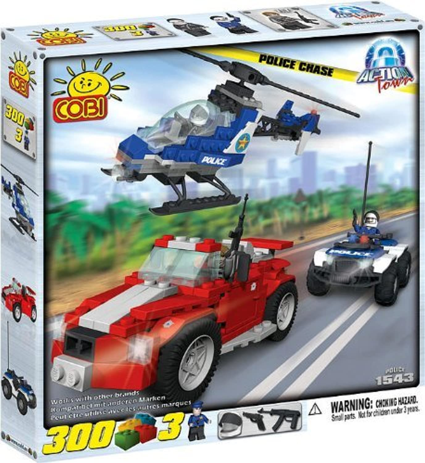 Cobi Action Town Police Chase by COBI