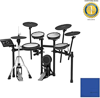 Roland TD-17KVX V-Drums Electronic Drum Set with Microfiber and 1 Year Everything Music Extended Warranty