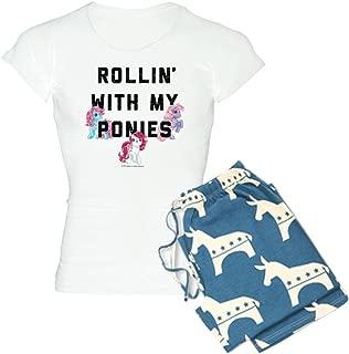 CafePress My Little Pony Rollin with Women's PJs