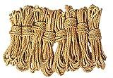 LEX ROPES premium Set Shibari Bondage Juteseil Rope Set 8 teilig je 8 m x 6mm -