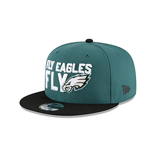 New Era Philadelphia Eagles 2018 NFL Draft Spotlight Snapback 9Fifty  Adjustable Hat 711fa775e