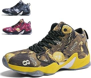 baskets de course l/ég/ères en tissu KPU,Rouge,39 Chaussures de basket-ball pour hommes chaussures de sport dext/érieur respirantes avec choc /élastique Bottes de basket-ball montantes A la mode