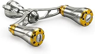 ゴメクサス (Gomexus) ダブル ハンドル 72 82 92 98mm シマノ (Shimano) ダイワ (Daiwa) スピニングリール 用, 19 ヴァンキッシュ C3000 SDHHG セルテート LT3000CXH など用 アルミ CNC切削 ノブ 付き