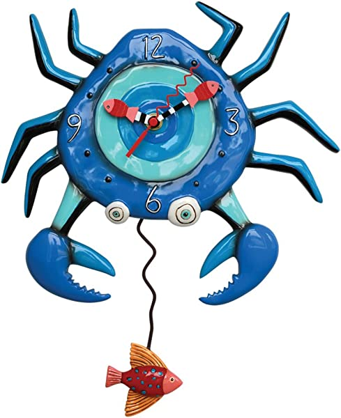 艾伦设计蓝蟹摆钟