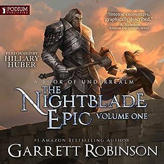 The Nightblade Epic, Volume 1 cover art