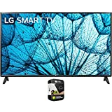 LG 32LM577BPUA 32 Inch LED HD Smart webOS TV 2021 Model Bundle with Premium 2 Year Extended Protection Plan
