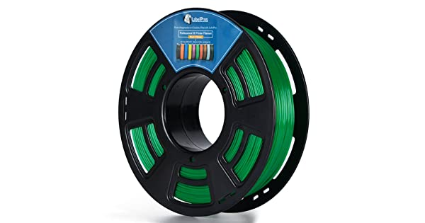 // 3D PLA 1.75MM BLUE Plastic 3D Printer Printing Filament 0.04 mm Dimensional Accuracy 1KG 2.2LBS LabelPros
