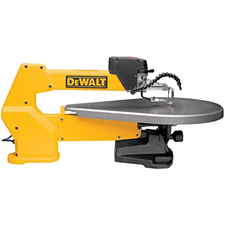 DEWALT Scroll Saw, Variable-Speed, 1.3 Amp, 20-Inch (DW788)