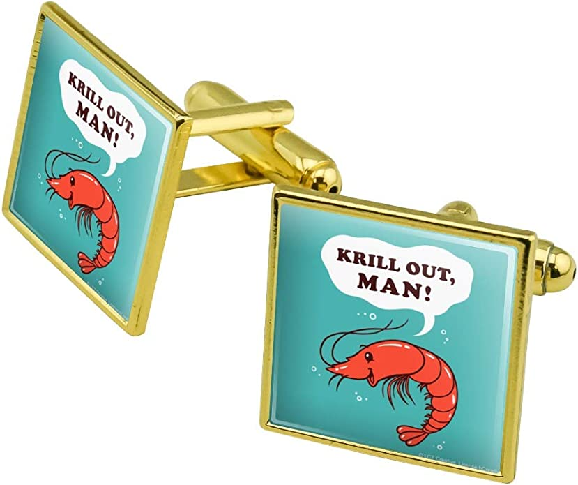 Krill Out Man Chill Shrimp Funny Humor Home Business Office Sign