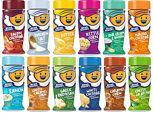 New Kernel Season's Complete Seasoning Kit (1 pack All New Flavors)