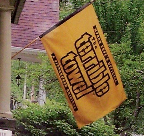 Pittsburgh Steelers Terrible Towel 3 ft x 5 ft FLAG - Double Sided - New in package