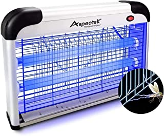ASPECTEK Upgraded 20W Electronic Bug Zapper, Insect Mosquito, Fly, Moth, Wasp, Beetle & Other pests Killer Indoor Residential & Commercial (Renewed)