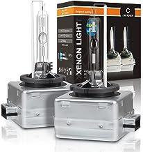Car Rover Auto D1S  -  Bombilla faros Xenon lámpara 6000K, 12V 35W, 1 pareja de lámparas