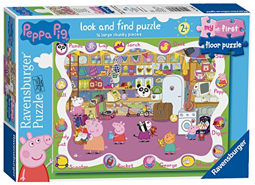 Ravensburger 6961 Peppa Wutz My First Floor Puzzle