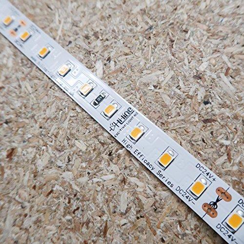 Preisvergleich Produktbild Höhe Effizienz LED-streifen warmweißer 24V 14.4W / m IP00 160Lm / W