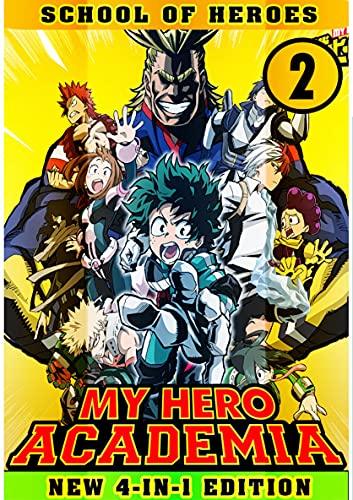 School Of Heroes: Book 2 Collection - Manga My Action Hero Shonen Academia Adventure Fantasy (English Edition)
