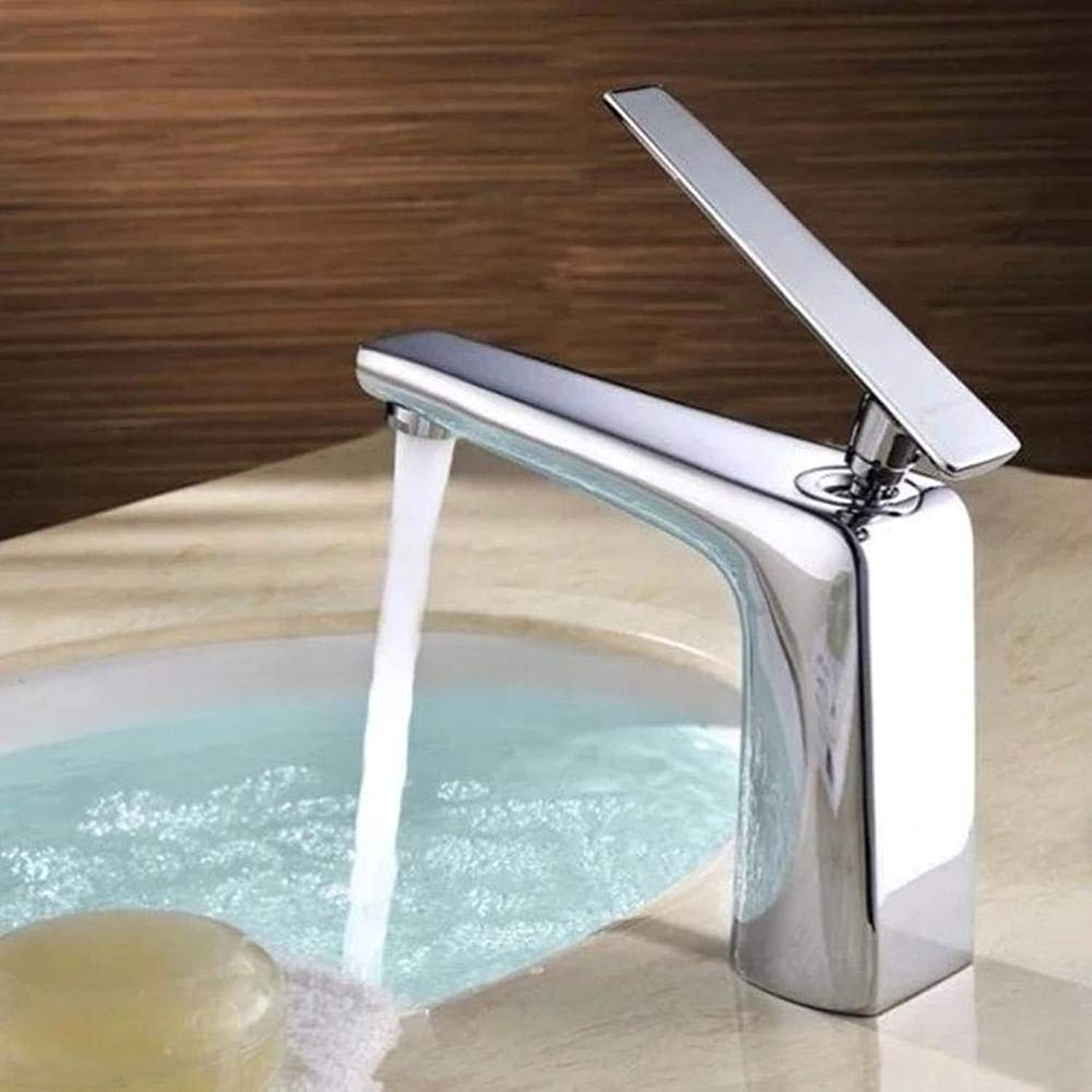 Wy Kitchen Taps Copper Basin hot and Cold Platform Basin Heightening Single Hole Water Bridle