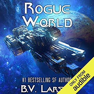 Rogue World     Undying Mercenaries, Book 7              Written by:                                                                                                                                 B. V. Larson                               Narrated by:                                                                                                                                 Mark Boyett                      Length: 12 hrs and 38 mins     31 ratings     Overall 4.8