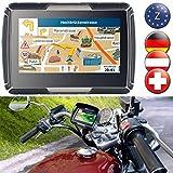 NavGear Motorrad Navigation: TourMate N4, Motorrad-, Kfz- & Outdoor-Navi mit Zentral-Europa (Motorrad Navigationsgerät)
