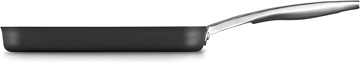 Calphalon 2029646 Premier Hard-Anodized Nonstick 11-Inch Square Grill Pan, Black