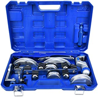 Dobladora de tubos, CT-999RF Kit manual de dobladora de tubos de aleación de aluminio 3/8 1/2 5/8 3/4 7/8 pulgadas