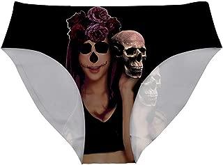 3D Christmas Personalized Skull Head Panties Women Seamless Ladies Panties Underwear Set Panties