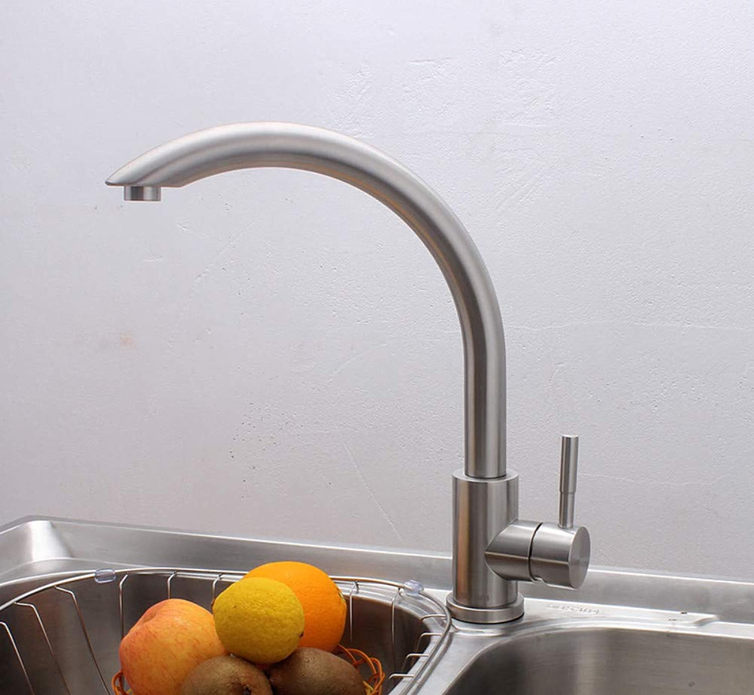 Stainless Steel Faucet Thermostat Kitchen Faucet Hot and Cold Water Sink Sink Mixing Valve Faucet
